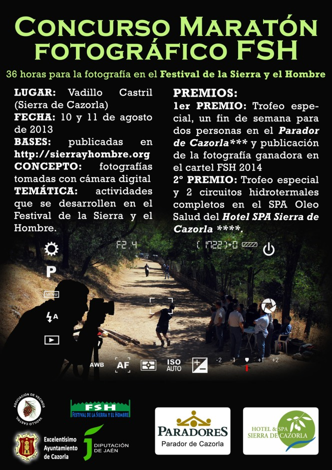 cartel concurso fotográfico festival de la Sierra y el Hombre copia red