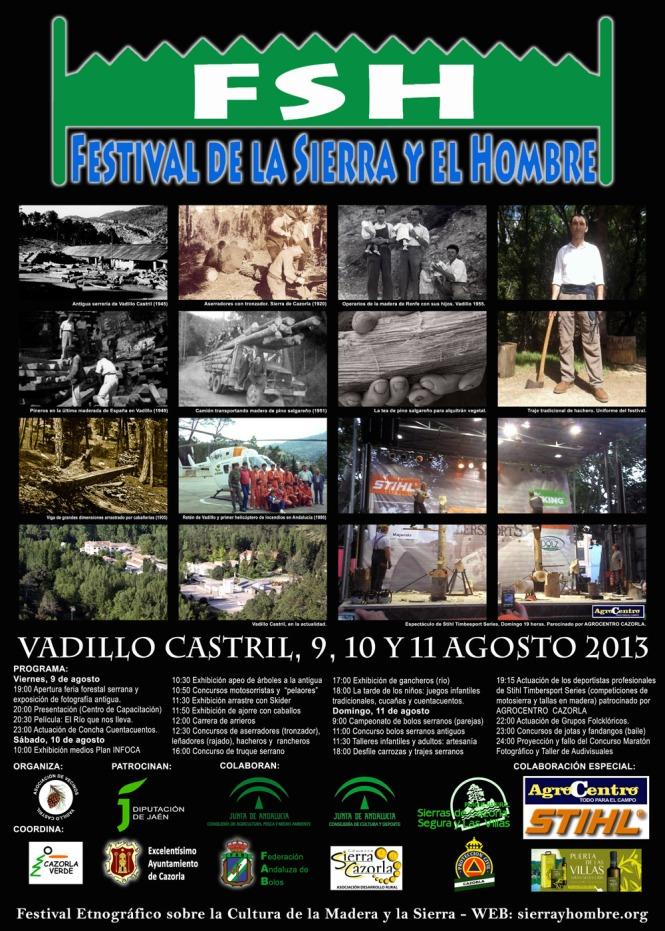 cartel festival sierra hombre red