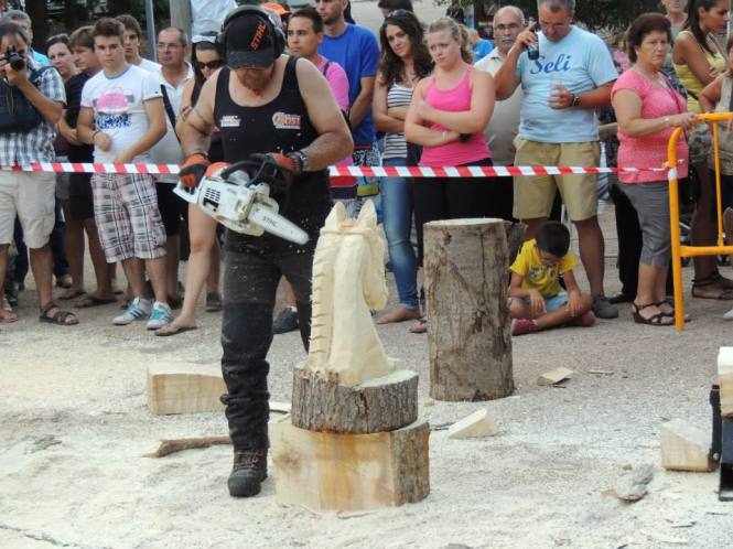 Abel de Vicente escultura caballo