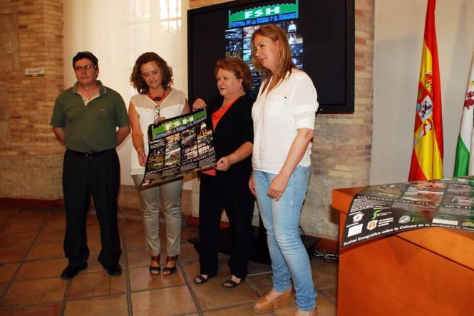Presentacion Festival de la Sierra y el Hombre Jaen agosto 2013