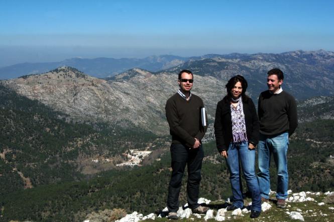 Pedro, Ana y Molero Poyos Mesa