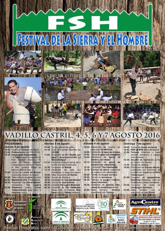 CARTEL SIERRA Y HOMBRE 2016